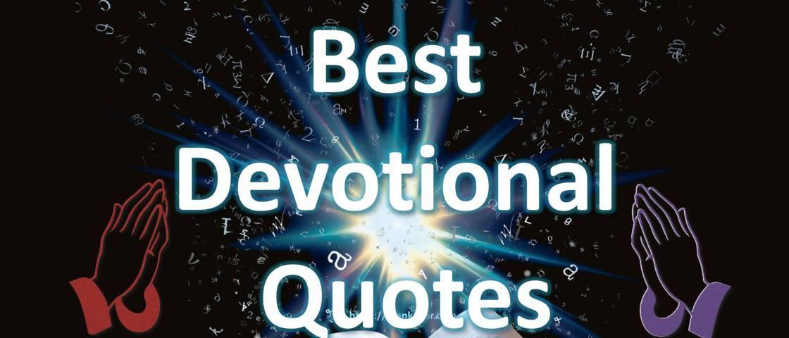 Best Devotional Quotes
